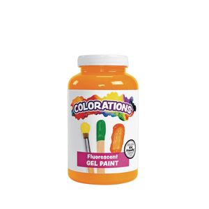 Colorations® Activity Paint, Fluorescent Orange, 16 oz.