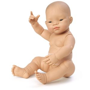 Asian Multicultural Newborn Baby Doll - BOY