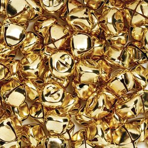 Colorations® Gold Jingle Bells - 150 Pieces