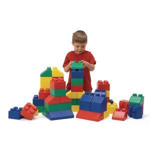 Super Soft Edublocks - 50 Pieces