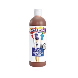 Colorations® Brown Simply Washable Tempera, 16oz.