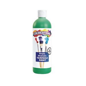 Colorations® Green Simply Washable Tempera, 16 oz.