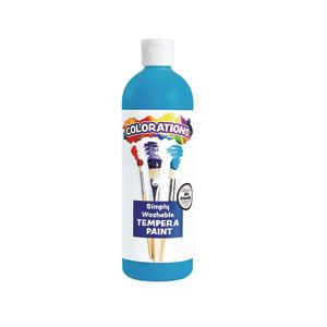 Colorations® Turquoise Simply Washable Tempera, 16oz.