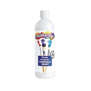 Colorations® White Simply Washable Tempera, 16oz.