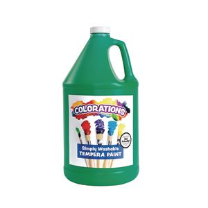 Colorations® Gallon of Green Simply Washable Tempera Paint, Paint, Tempera Paint, Washable Paint, Washable Tempera Paint
