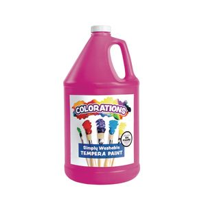 Colorations® Gallon of Magenta Simply Washable Tempera Paint