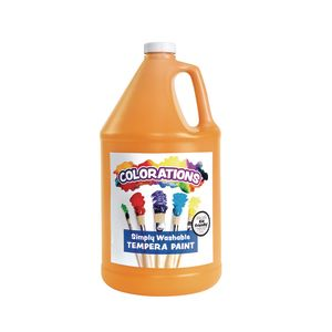Colorations® Gallon of Orange Simply Washable Tempera Paint