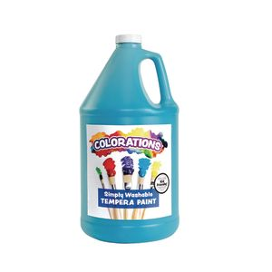 Colorations® Gallon of Turquoise Simply Washable Tempera Paint