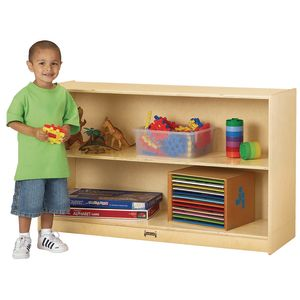 Jonti-Craft® Mobile Fixed Shelf Storage