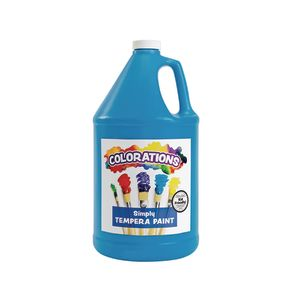 Colorations® Simply Tempera Paint, Turquoise - 1 Gallon