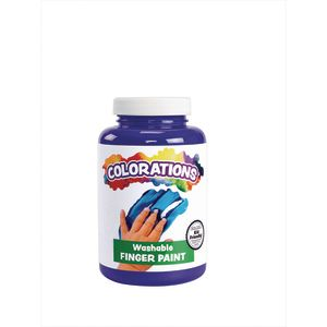 Colorations® Washable Finger Paint, Violet - 16 oz.