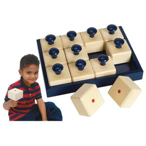 Listen and Match Wooden Shakers