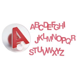 Colorations® Easy-Grip Stampers, Uppercase Alphabet - Set of 26