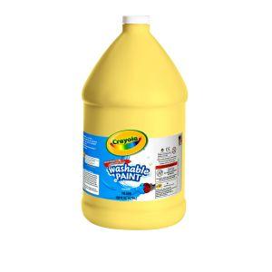 Yellow Crayola® Washable Paint, 1 Gallon
