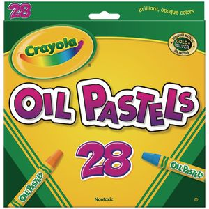 Crayola Oil Pastels - Set of 28
