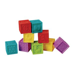 Soft Squeak Blocks - Set of 9