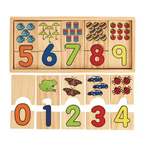 Number Puzzle Blocks