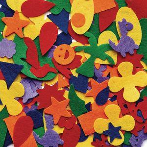 Colorations® Felt Shapes - 500 Pieces