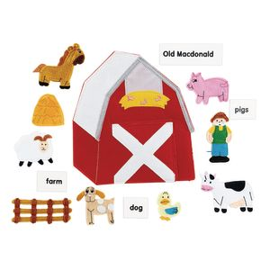 Excellerations® Old MacDonald Felt Story Pieces