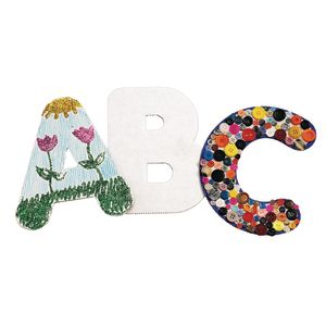 "Huge 9"" Alphabet Collage Letters"