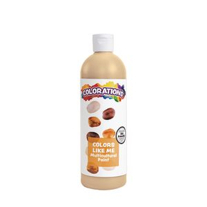 Colorations® Colors Like Me® Multicultural Paint, Cinnamon - 16 oz.