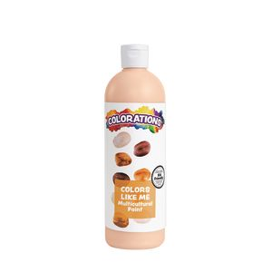 Colorations® Colors Like Me® Multicultural Paint, Peach - 16 oz.