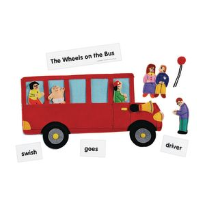 Excellerations® Wheels on the Bus Felt Story Pieces