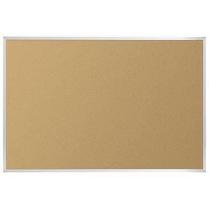 3' X 4' Value-Tak Cork Board Aluminum Trim