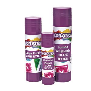 Colorations® Best-Value Washable Glue Stick, Large (.88 oz.) - 1 Stick