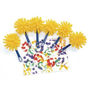 Colorations® Sponge Paint Wands - Set of 6