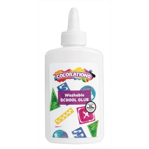 Colorations® Washable School Glue, 4 oz.