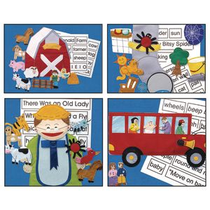 Excellerations® Felt Story Sets - Set of All 4