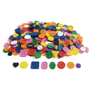 Bright Craft Buttons - 5 lbs.