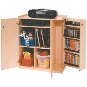 Mobile Audio Locking Storage Unit