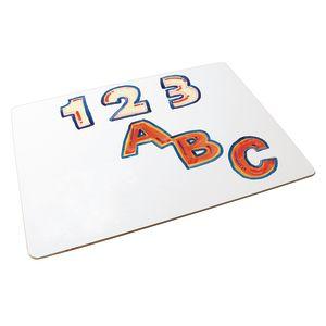 "9"" x 12"" Dry-Erase Lap Boards - Set of 10"