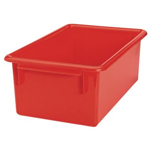 MyPerfectClassroom® Easy-Label Bin - Red