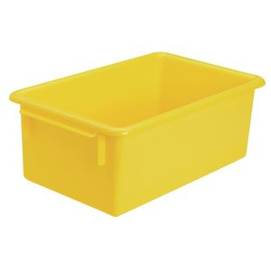 MyPerfectClassroom® Easy-Label Bin - Yellow