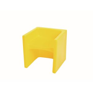 Cube Chair - Yellow