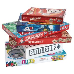 Board Games for 7 Years and Up - Set of 6