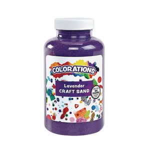 Colorations® Colorful Craft Sand, Lavender - 22 oz.