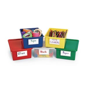 Blue Easy-Label Teaching Bin Lid