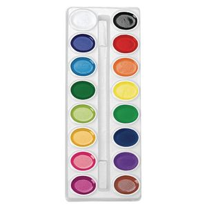 Colorations® 16 Best Value Non-Washable Watercolor Paint Refill - Individual