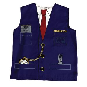 Train Conductor Washable Career Costume