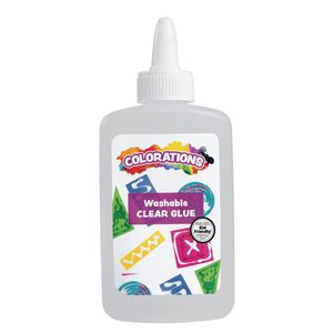 Colorations® Washable Clear Glue, 4 oz. - 1 Bottle