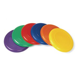 "Flying Discs, 9"" - Set of 6"
