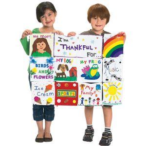 Colorations® Classroom Canvas Quilt - 12 Pieces