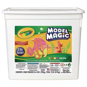 Neon Crayola® Model Magic® Modeling Clay - 2 lbs.