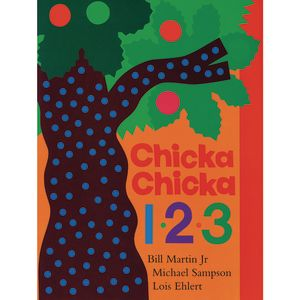 Chicka Chicka 123 - Hardcover Book