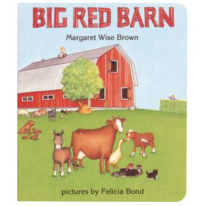 Big Red Barn Board Book