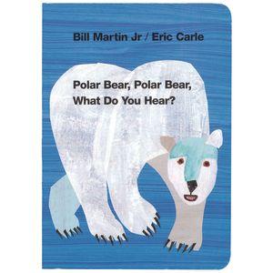 Polar Bear, Polar Bear, What Do You Hear? Board Book
